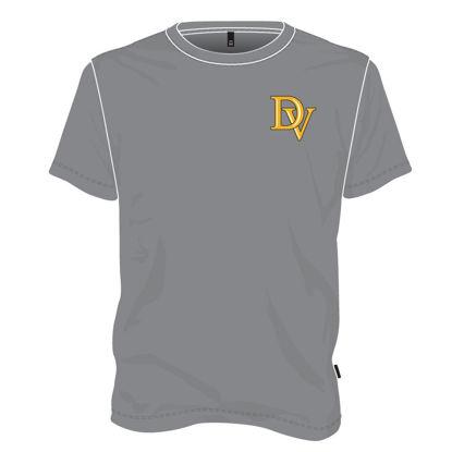 Image de T-shirt col rond (Gris)